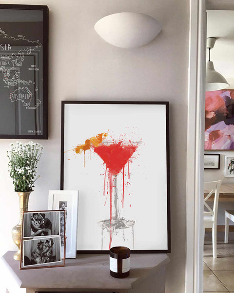 Cosmopolitan Cocktail Wall Art Print-We Love Prints