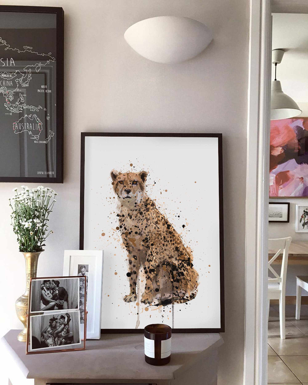 Cheetah Wall Art Print