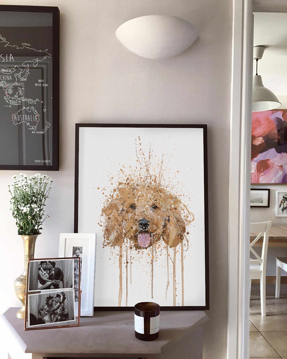 Cockapoo Wall Art Print
