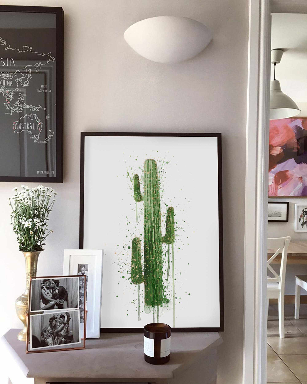 Botanical Wall Art Print 'Cactus'
