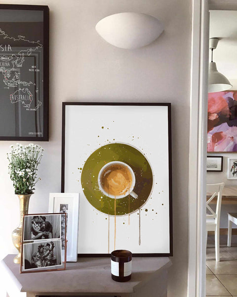 Coffee Wall Art Print 'Espresso'