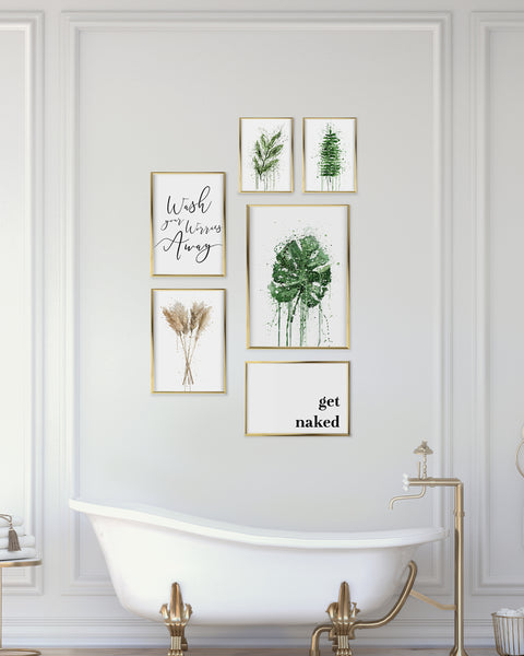 Tranquility Gallery Wall Set