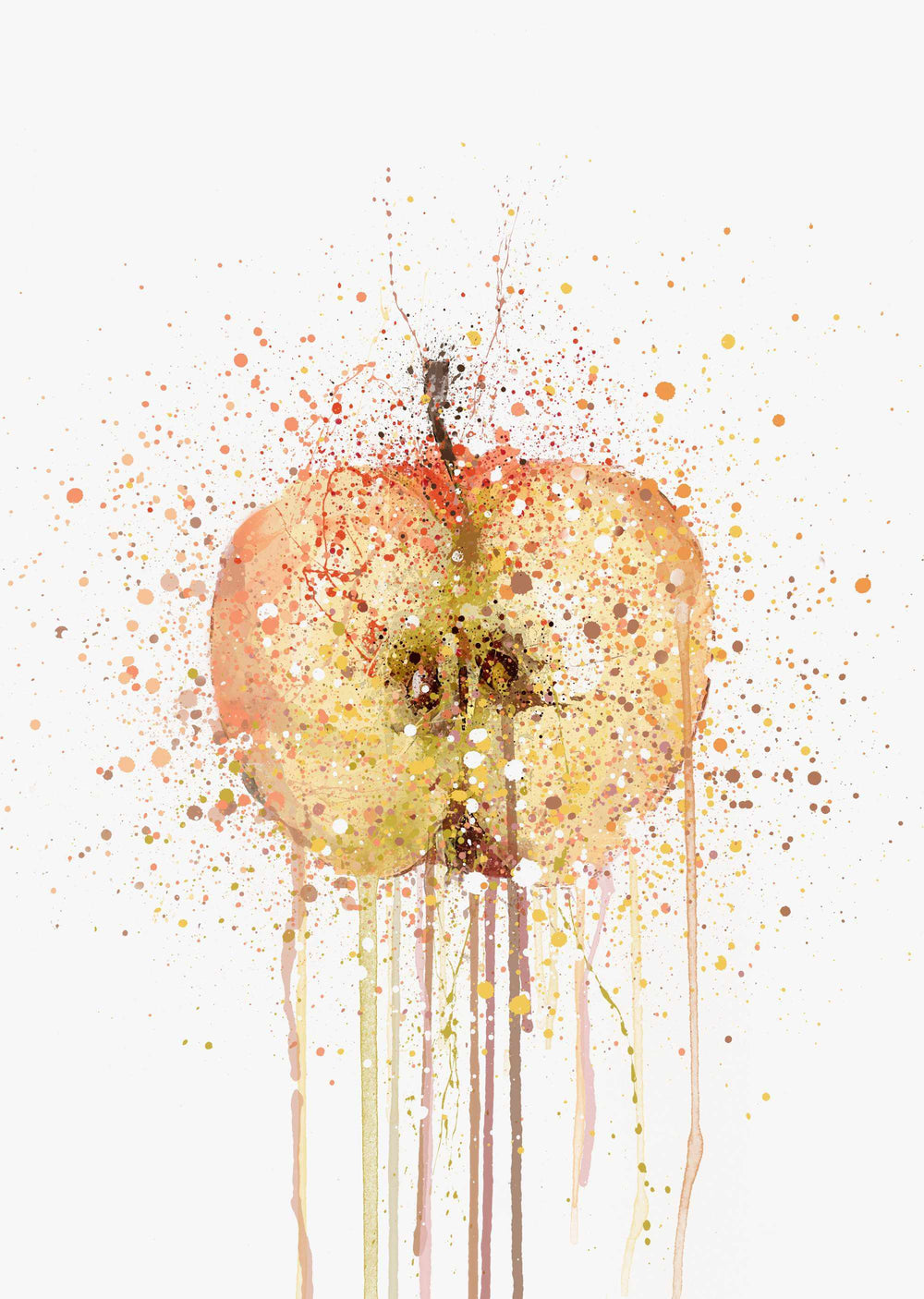 Apple Fruit Wall Art Print-We Love Prints
