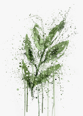 Ash Leaf Wall Art Print-We Love Prints