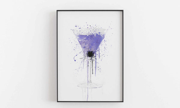 Aviation Cocktail Wall Art Print-We Love Prints
