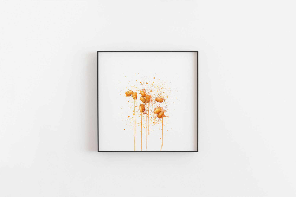 Baked Beans Wall Art Print-We Love Prints