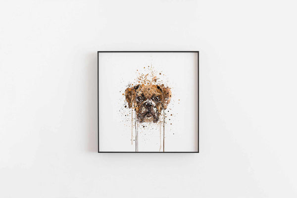 Boxer Wall Art Print-We Love Prints