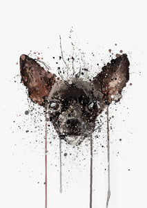 Chihuahua Wall Art Print-We Love Prints
