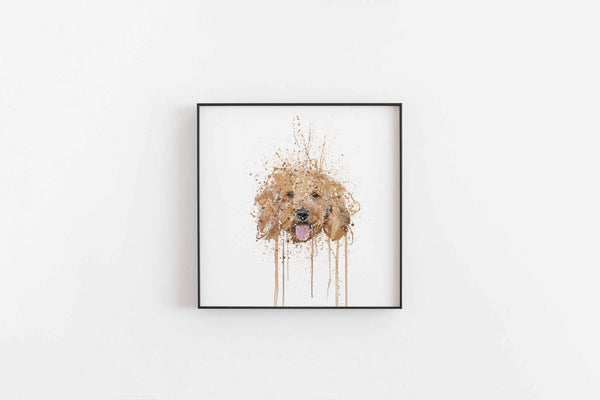 Cockapoo Wall Art Print-We Love Prints