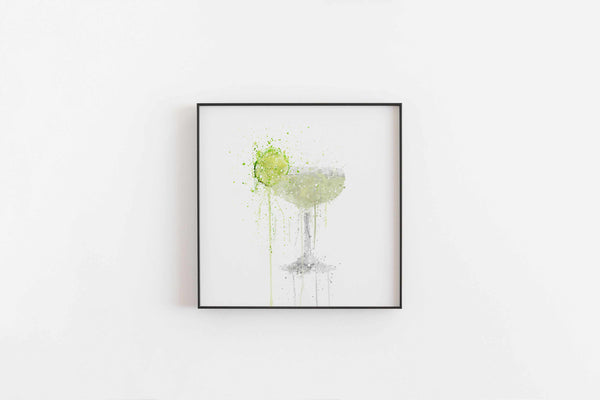 Daiquiri Cocktail Wall Art Print-We Love Prints