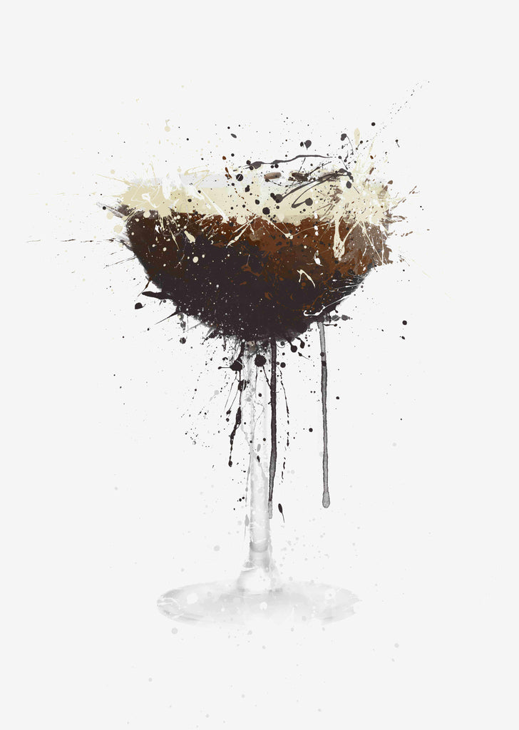 Espresso Martini Cocktail Wall Art Print-We Love Prints