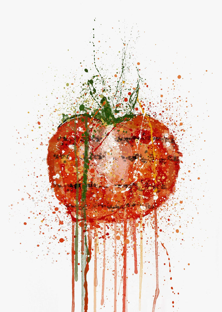 Grilled Tomato Wall Art Print-We Love Prints