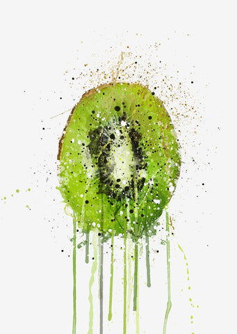 Kiwi Fruit Wall Art Print-We Love Prints