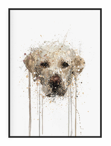 Labrador Wall Art Print-We Love Prints