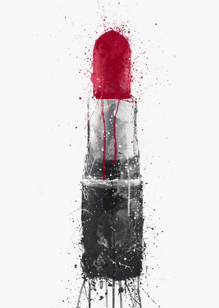 Lipstick Wall Art Print 'Diva'-We Love Prints