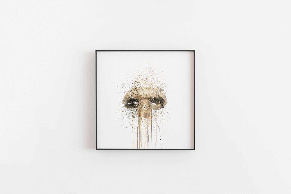 Mushroom Wall Art Print-We Love Prints