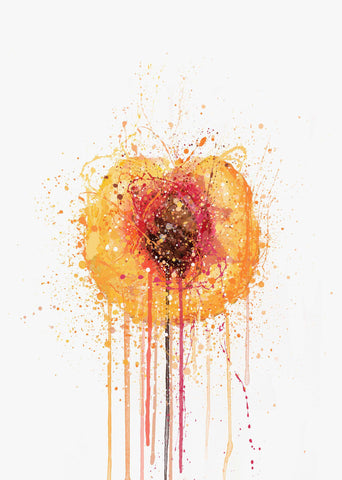 Peach Fruit Wall Art Print-We Love Prints