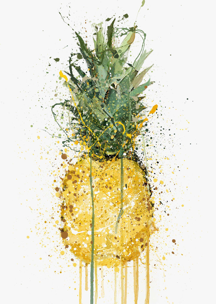 Pineapple Fruit Wall Art Print-We Love Prints