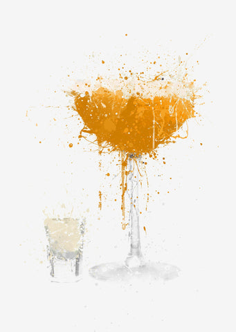 Pornstar Martini Cocktail Wall Art Print-We Love Prints