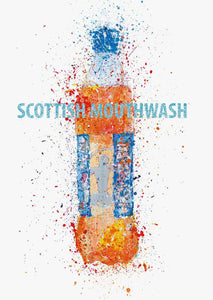 Scottish Mouthwash Print-We Love Prints