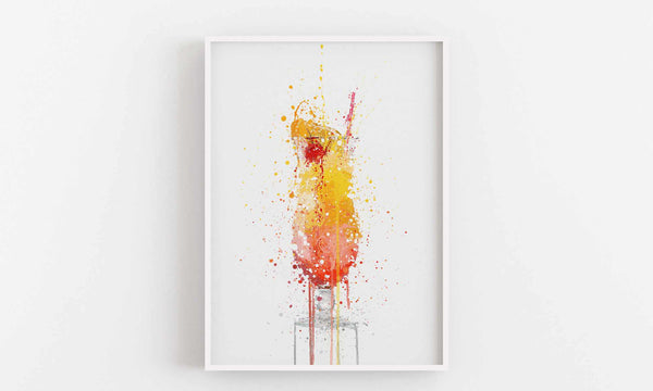 Sex On The Beach Cocktail Wall Art Print-We Love Prints
