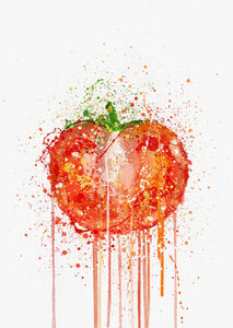 Tomato Vegetable Wall Art Print-We Love Prints