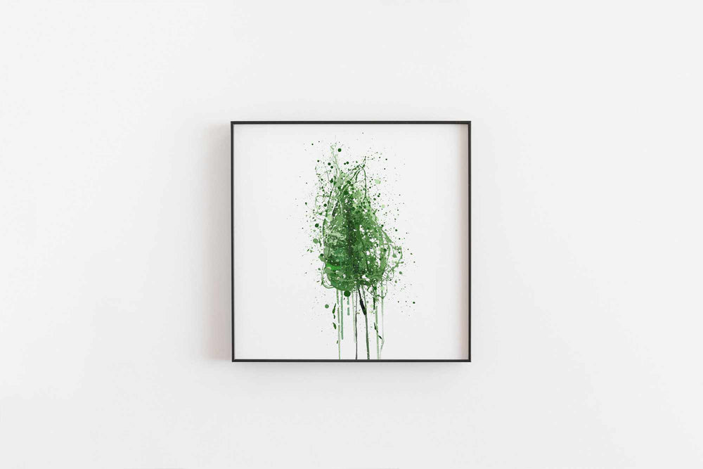 Tropical Leaf Wall Art Print-We Love Prints