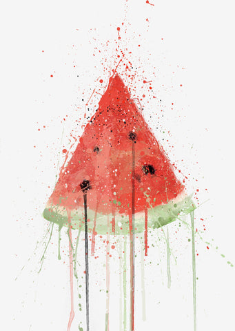 Watermelon Fruit Wall Art Print-We Love Prints