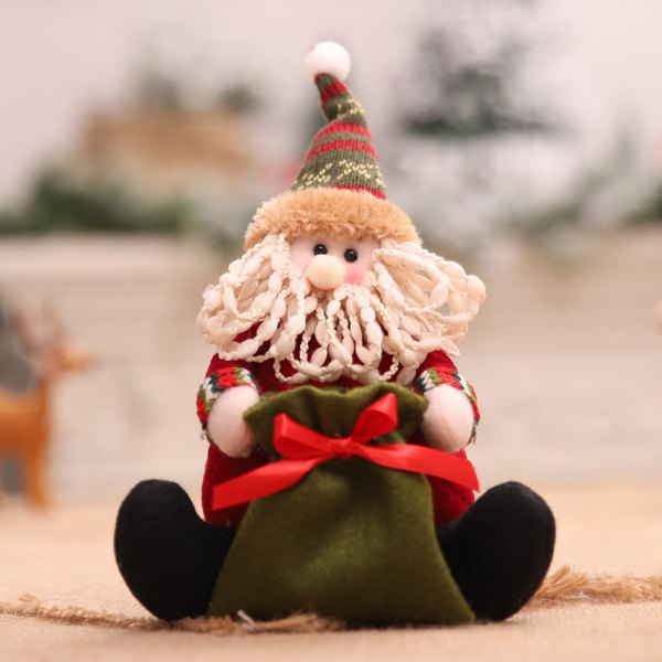 Christmas Gift Santa Claus Candy Bag
