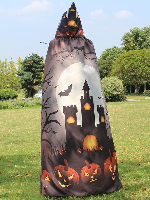 Magic Cloak with Halloween Printed