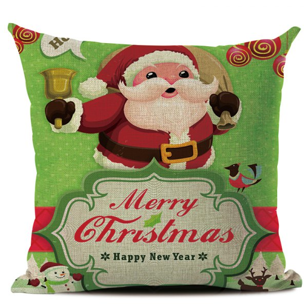 Christmas Snowman Pillowcase
