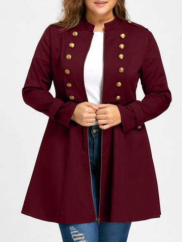Halloween-Plus Size Outerwear