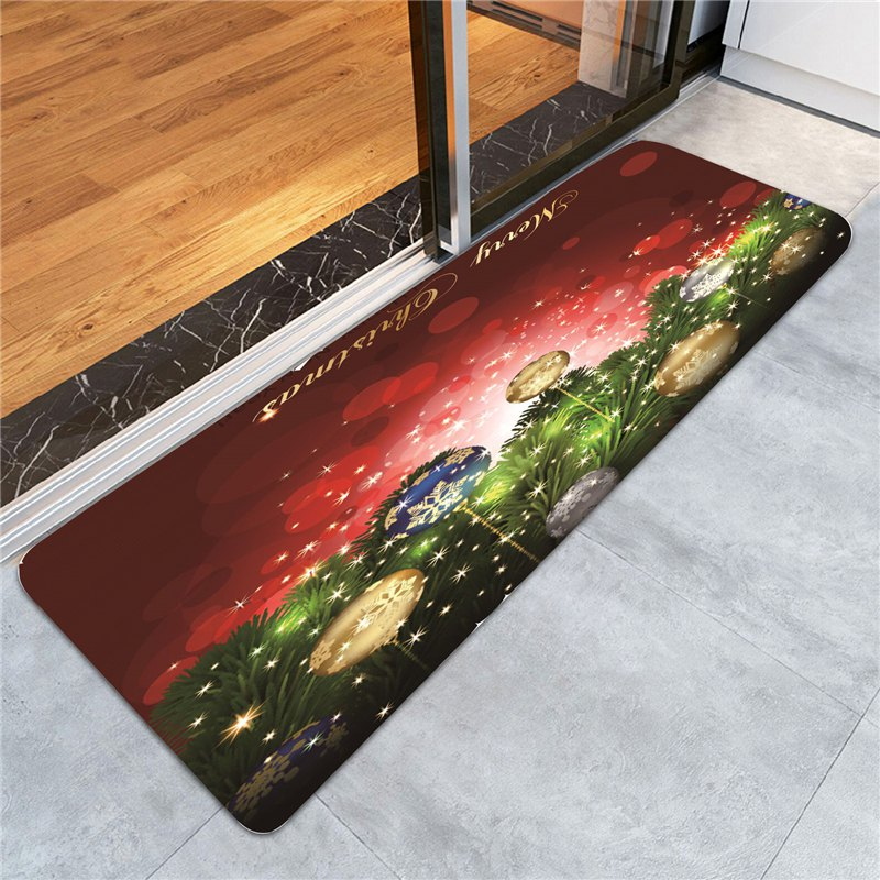 Light-spot And Baubles Pattern Skidproof Rug