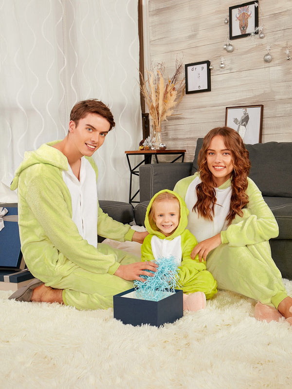 Frog Animal Onesie Matching Family Pajamas