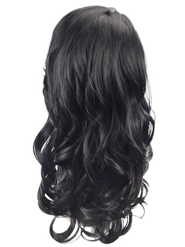 Side Parting Long Wavy Heat Resistant Synthetic Wig