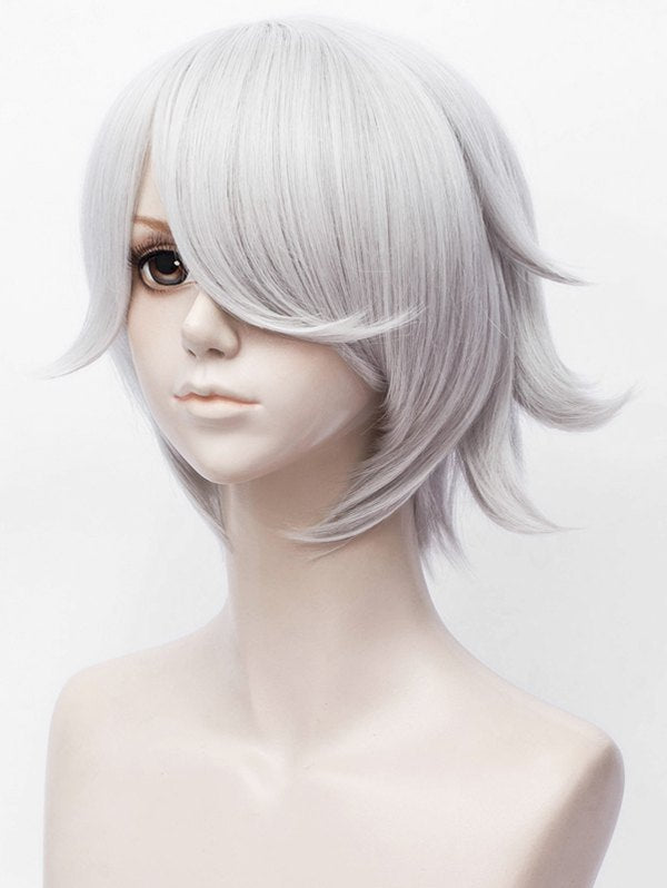 Short Side Bang Straight Anime Aotu World Daniel Cosplay Synthetic Wig