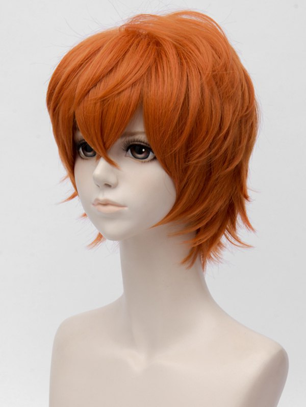 Short Side Bang Straight Mystic Messenger Cosplay Synthetic Wig