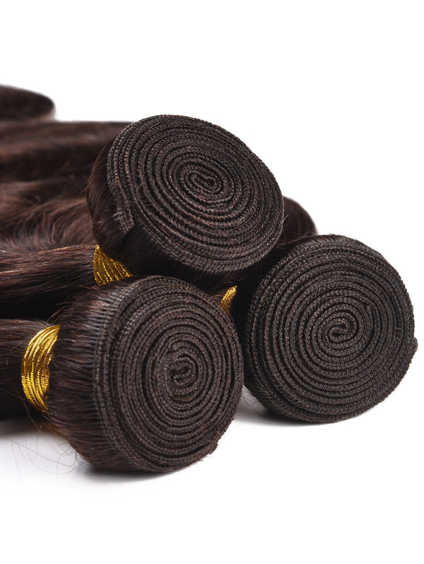 Dyed Permed Human Hair Body Wave Hair Weaves