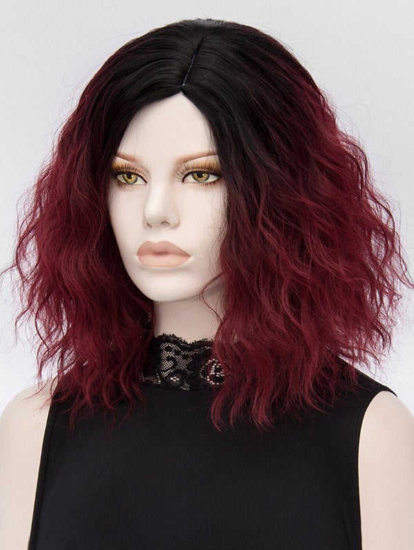 Side Parting Colormix Natural Wavy Medium Synthetic Wig