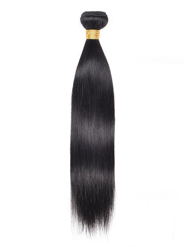 1Pc Indian Real Human Hair Straight Hair Weave