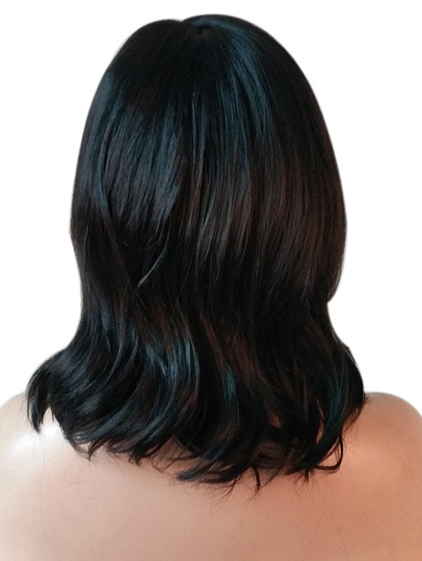 Medium Center Parting Natural Straight Synthetic Wig