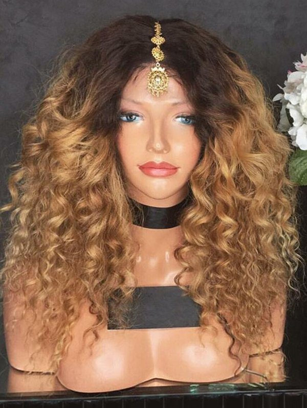 Long Ombre Loose Wave Synthetic Wig