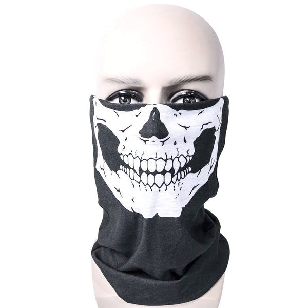 Printing Bike Motorcycle Helmet Neck Face Mask Paintball Ski Sport Headband