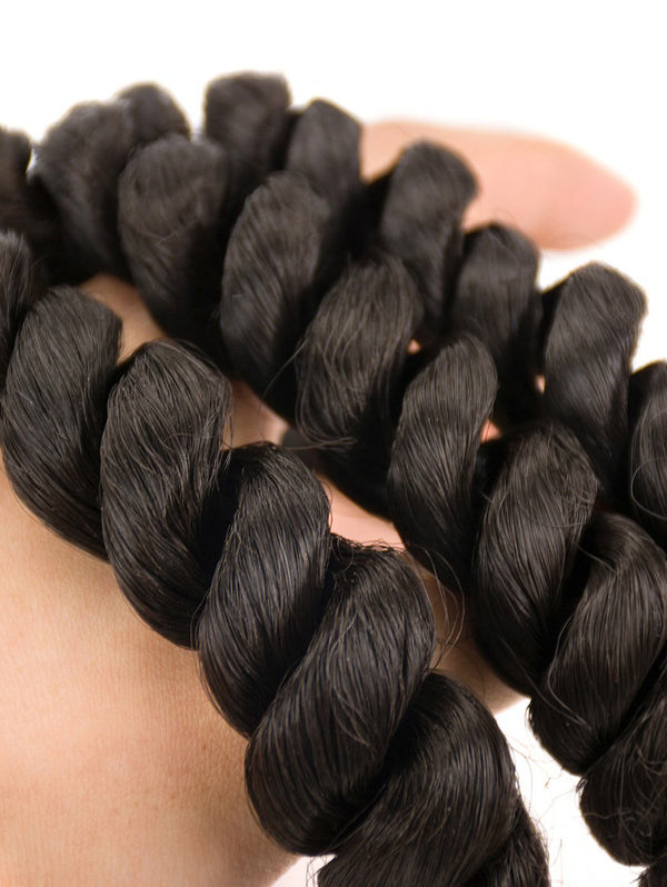 Short Loose Wave Synthetic Hair Weaves
