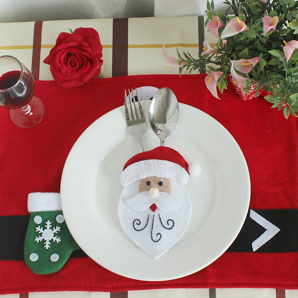 Ws Santa Claus Snowman Reindeer With Pocket Party
