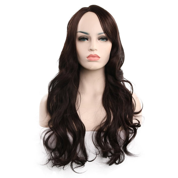 Ladies Stylish Long Curly Hair Wig 017