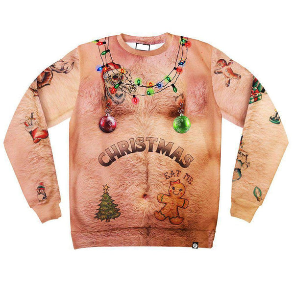 Print Christmas Men's 3D Long Sleeve T-shirt