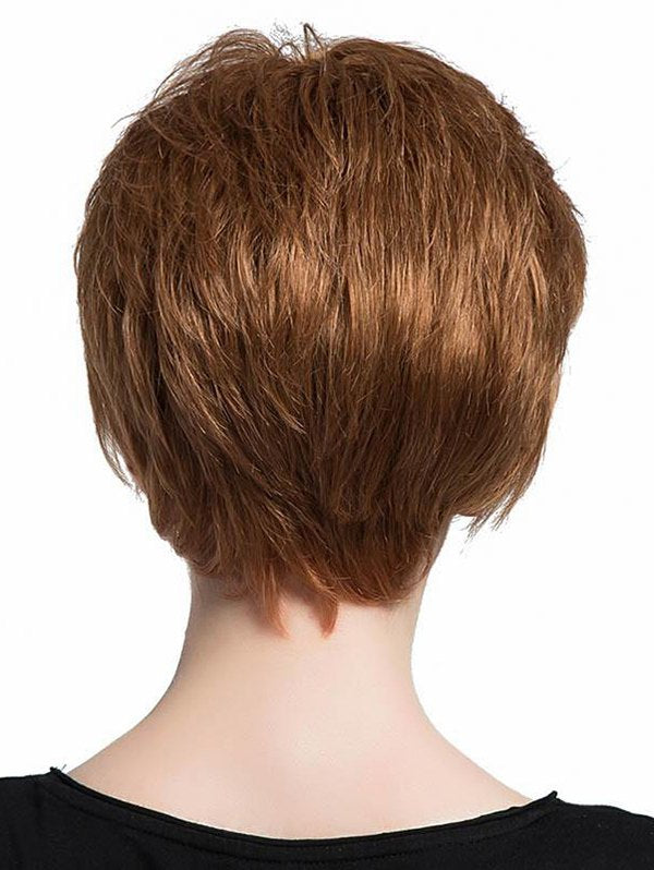 Synthetic Side Bang Short Straight Wig