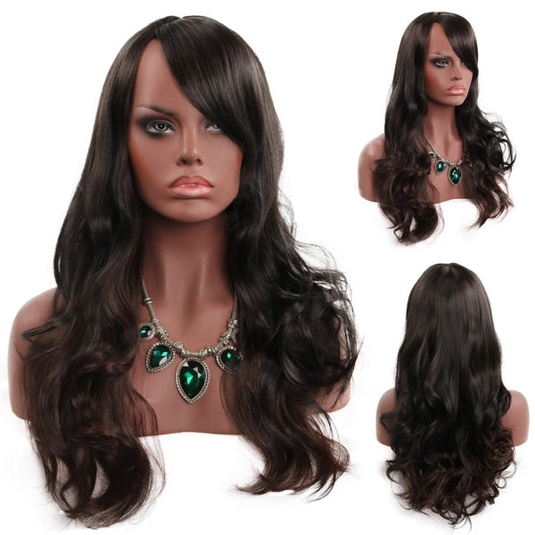 Black Ladies Have Long Curly Hair in Fashion WIG-039