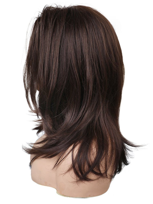 Long Side Bang Straight Party Synthetic Lace Front Wig